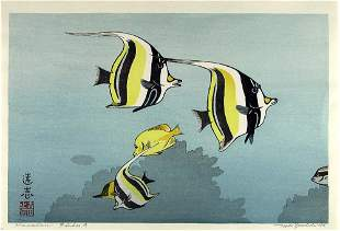 Toshi YOSHIDA, Hawaiian Fishes 'A'