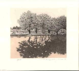 RYOHEI TANAKA (1933-2019) - REFLECTION NO.3