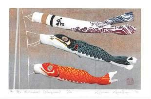 KUNIO KANEKO (b. 1949) - GO GO KOINOBORI (NAGOMI)