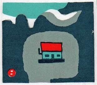 UMETARO AZECHI (1902-1999) - MT HOME