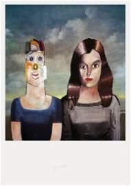 Saul Steinberg: Couple Portrait