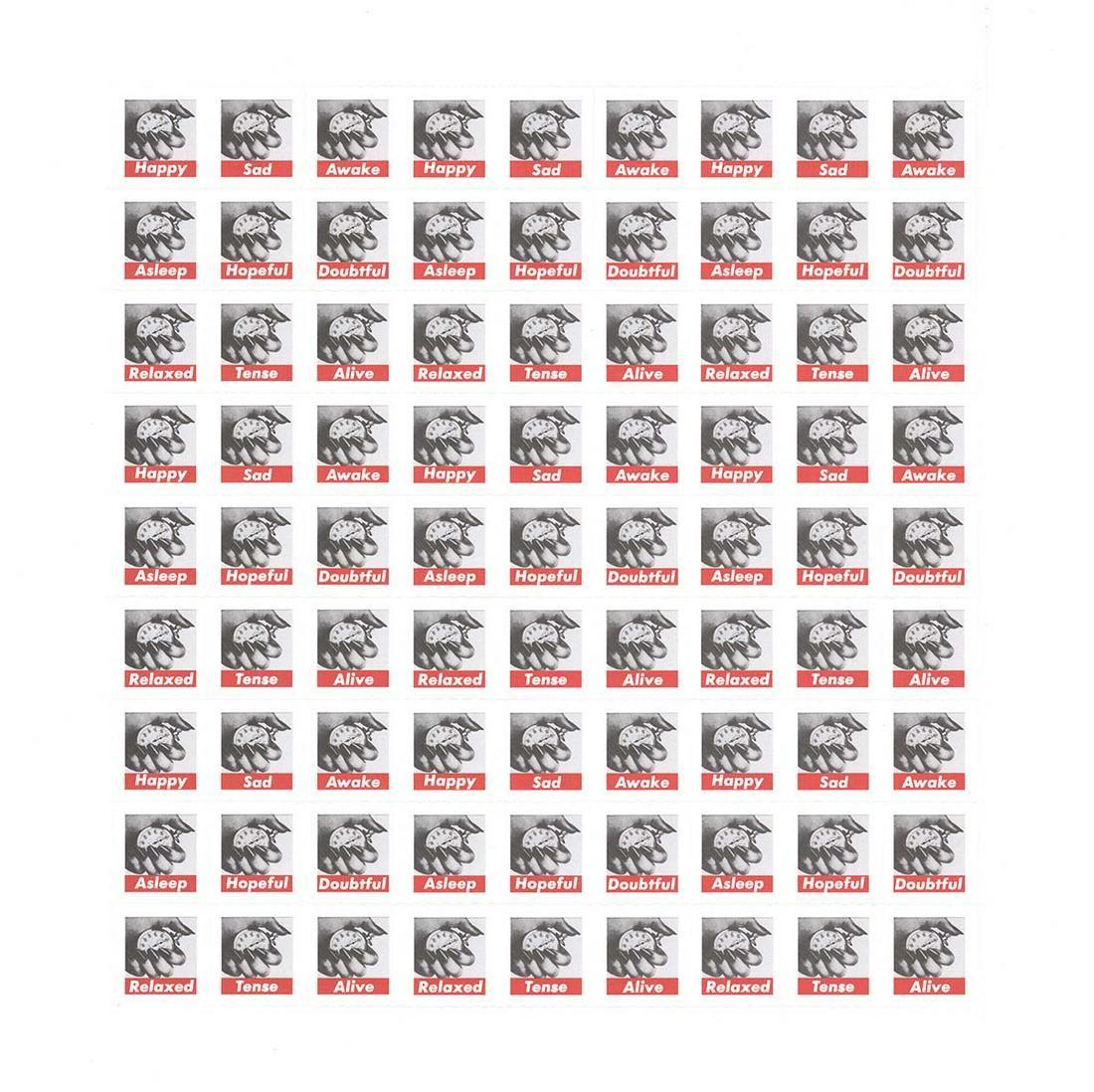 Barbara Kruger: Untitled (Stamps)