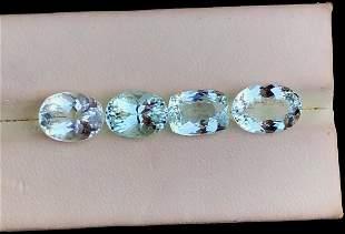Natural Aquamarine Gemstones lot From Pakistan - 9.65