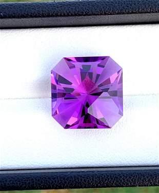 Beautiful Attractive Purple Amethyst Loose Gemstone -