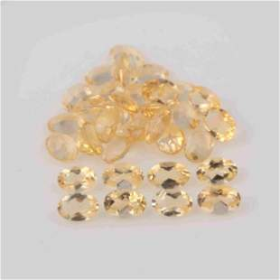 13.62 Carat Yellow Color Natural Oval Citrine Loose