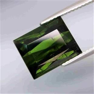 awesome natural big green tourmaline-6,05 ct 1,2