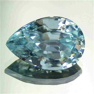 1.60 CTS NATURAL ZIRCON PEAR SHAPE GOOD LUSTER LOOSE