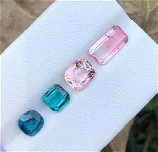 4 Carats Beautiful Tourmaline Gemstone from Afghanistan