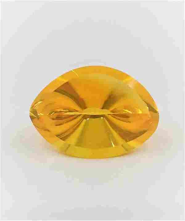 Fire Opal Certified - 13.20 ct