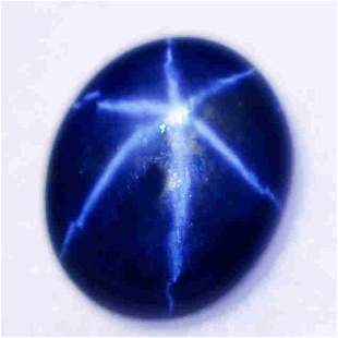 7.75 CTs Best 6-Ray Star Flashing Sapphire
