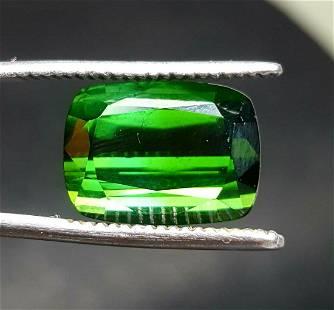 Flawless Chrome Tourmaline Afghanistan - 9.50 Carats -