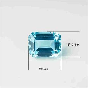Natural Emerald Cut 20.85 Carats Topaz Loose Gemstone