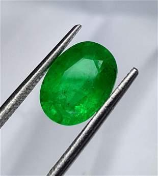 AA Quality Natural Emerald - 2 Carats - 10X7X5 mm