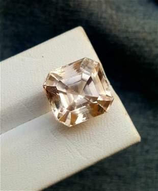 Faceted Natural Golden Topaz - 25.55 Carats -
