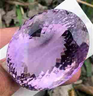 319 Carats Natural Purple Amethyst Oval Cut