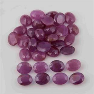 107.20 Carat Red Color Natural Oval Ruby Loose Gemstone