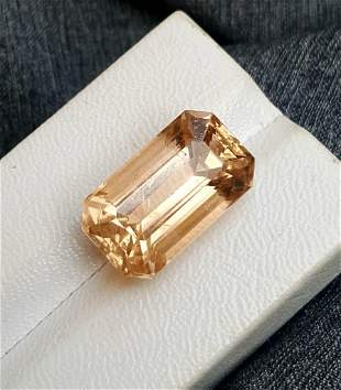 17.45 Carats Natural Golden Topaz - 18X13X8 mm