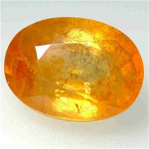 12.00 Cts Awesome Yellow Luster Sapphire