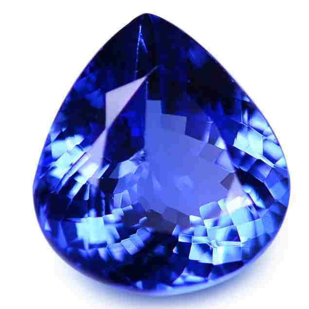 5.72 Cts GIA Certified Natural Pear Tanzanite