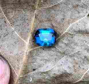 2+ Carats Top Blue Tourmaline from Afghanistan