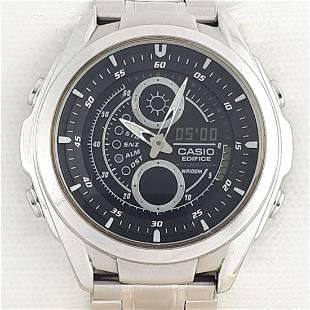 CASIO Edifice watch collection - WR100M - Ref:3798