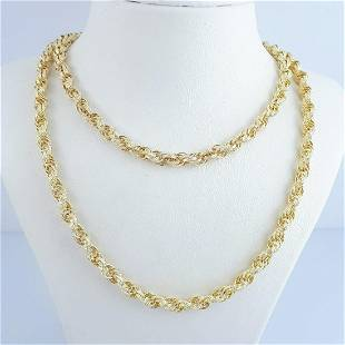 4K Yellow Gold - Necklace