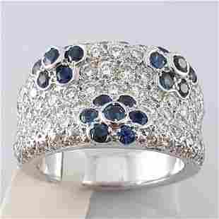 18K White Gold - Ring