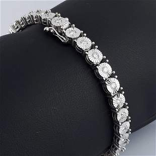 14K White Gold - Bracelet