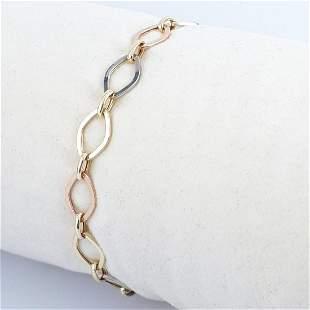 14K Tri colour - Bracelet