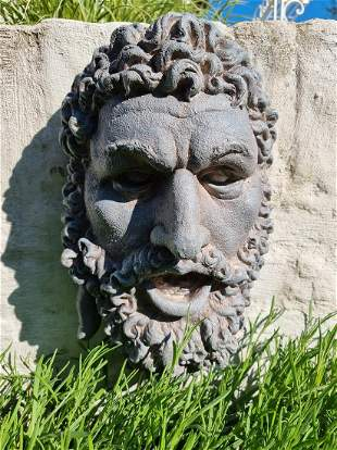 Wall Decoration Mythical wall bust Classic Men's Head