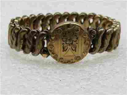 Vintage 12kt G.F. Expendant Sweetheart Bracelet,