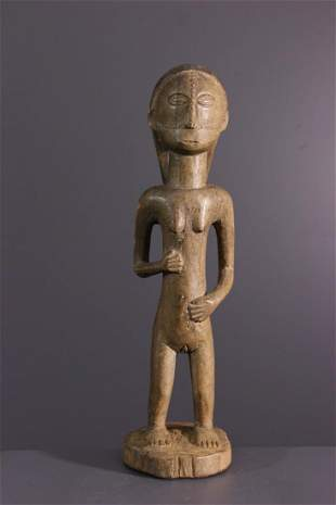 Tabwa wood tutelary effigy - DRC Congo - African Art