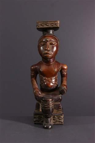 Effigy Kuba Ndop Bushoong - DRC Congo - African Art