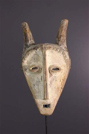 Kayamba Lega wood mask - DRC Congo - African Art Tribal