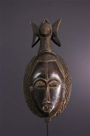 Ndoma portrait mask of Baoulé / Yohoure - Ivory Coast -