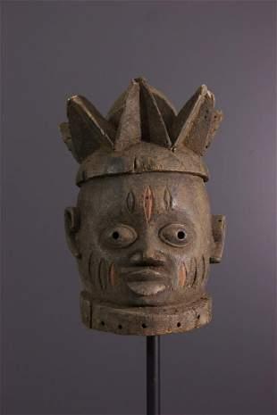 Gelede Yoruba crest mask - Nigeria - African Art Tribal