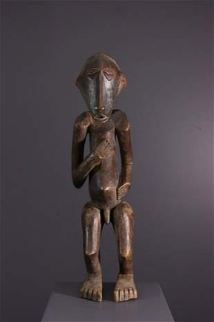 Boyo / Basumba ancestor wood statue - DRC Congo -