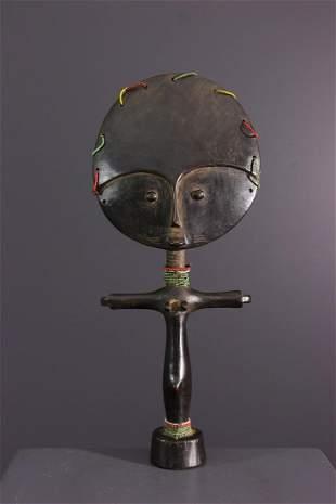 Akua ba Ashanti Ghana doll - Ghana - African Art Tribal