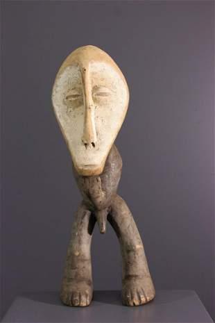 Introductory wood figure of Bwami Lega - DRC Congo -