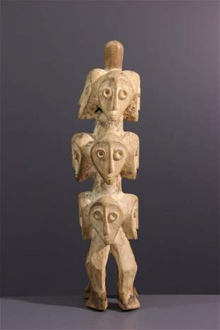 Sakimatwematwe Lega wood figure - DRC Congo - African