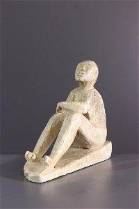 Kongo stone figure - DRC Congo - African Art Tribal Art