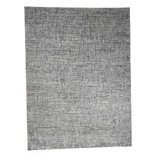 THE MATRIX Pure Silk with Oxidized Wool Tone on Tone