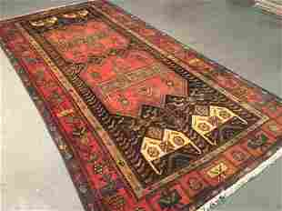 """STUNNING AUTHENTIC PERSIAN RUG 4'.8"""" X9'.6"""""""
