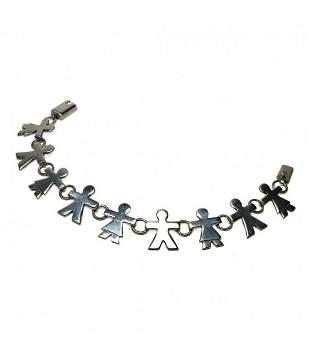 Sterling Connected People Bracelet