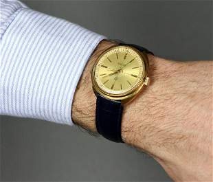 Raketa Vintage Men Wrist Watch / Rare Golden Vintage