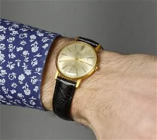Poljot Deluxe Vintage Men Wrist Watch Russian Antique