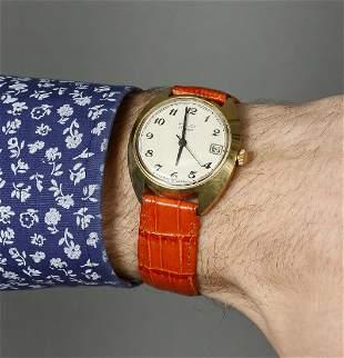 Poljot Vintage Men Wrist Watch / Antique Unisex White