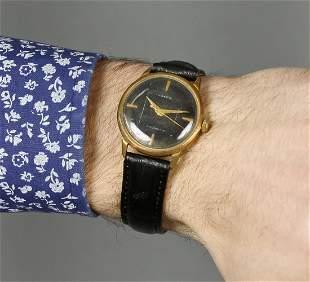 Raketa vintage men wrist watch/ Golden Black antique
