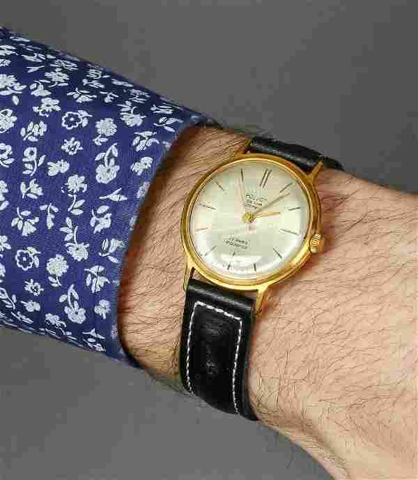 Poljot deluxe automatic vintage men wrist watch russian