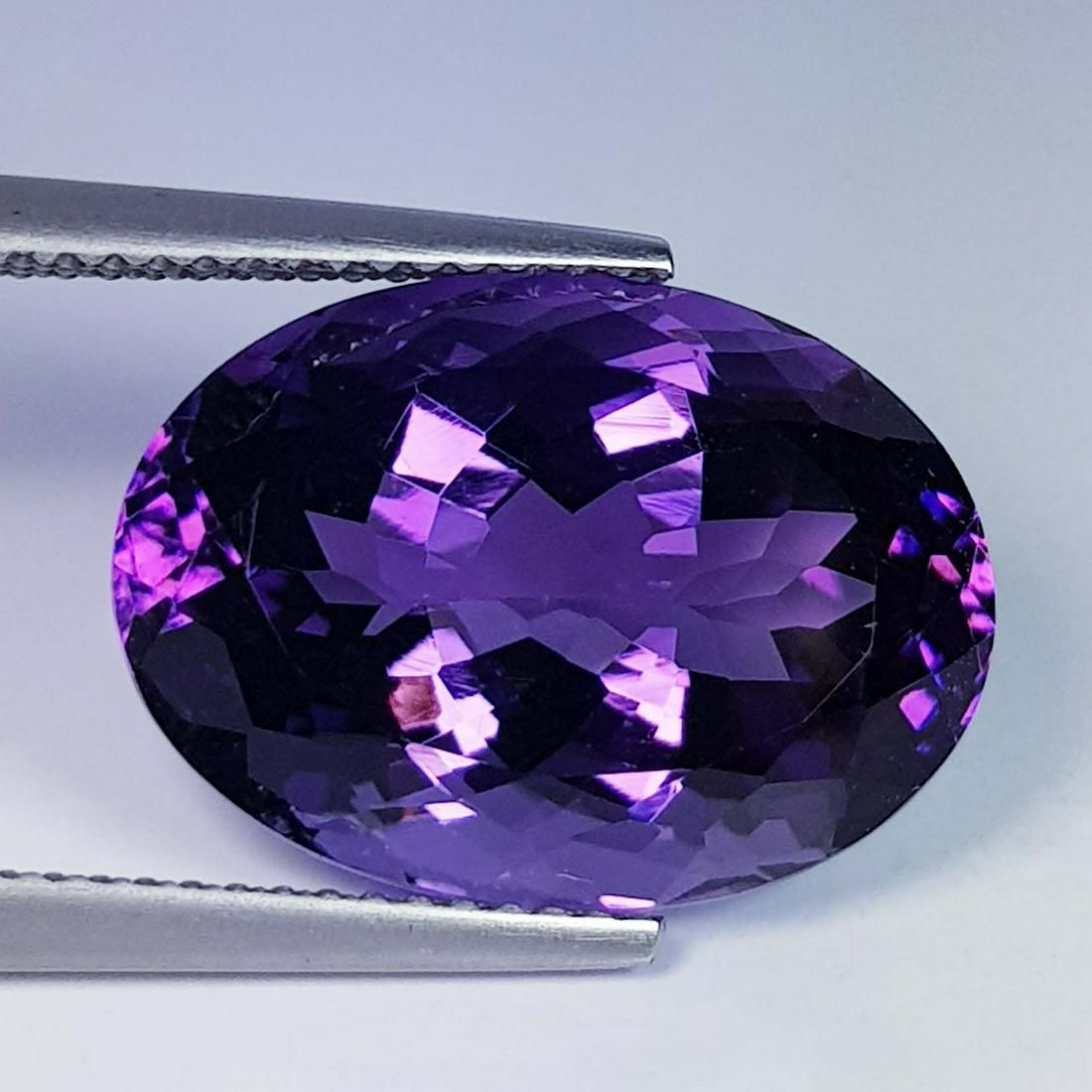 Natural Amethyst Oval Cut 11.02 ct